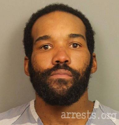 Desmond Brown Arrest Photo