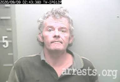 Jimmy Hester Arrest Photo