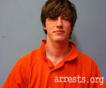 Levi Gore Arrest Photo