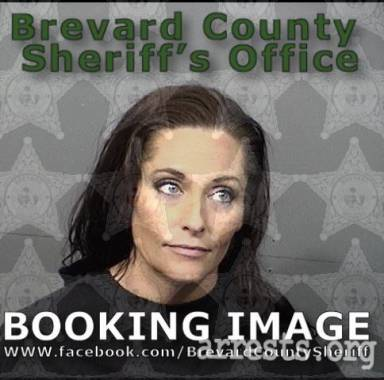 Christine Brown Arrest Photo