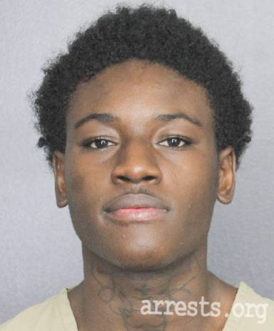 Tyrese Grant-campbell Arrest Photo