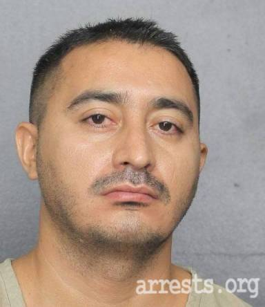 Jorge Reyes Arrest Photo
