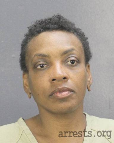 Joycelyn Burrows Arrest Photo