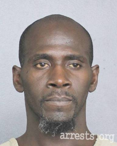 Eddie Arrington Arrest Photo