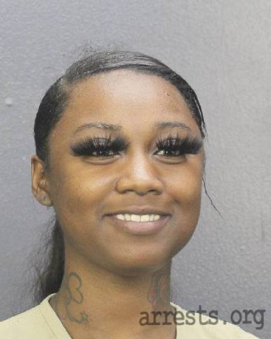 Desiree Brackins Arrest Photo