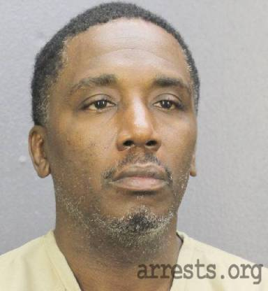 Terrance Hall Arrest Photo