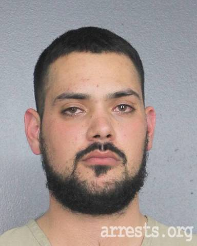 Daniel Turbay Arrest Photo