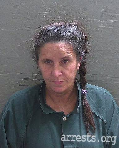 Greta Stott Arrest Photo