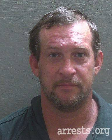 Chad Moore Arrest Photo
