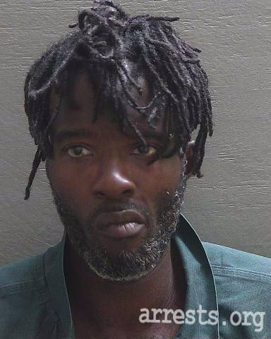 Tyronn Harden Arrest Photo