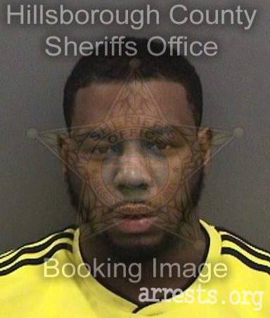 Terrence Peoples Arrest Photo