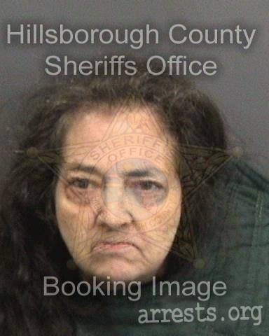 Elaine Freeman Arrest Photo