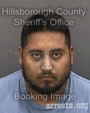 Inmer Barrios-osorio Arrest Photo