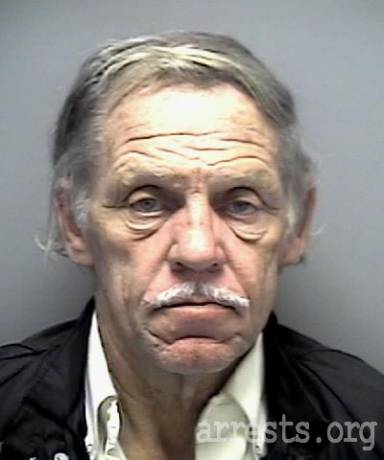 Ray Messner Arrest Photo