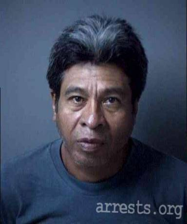Julio Ortiz Arrest Photo