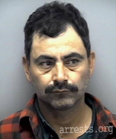 Humberto Garcia Arrest Photo