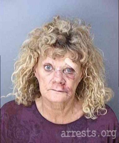 Karen Albertson Arrest Photo