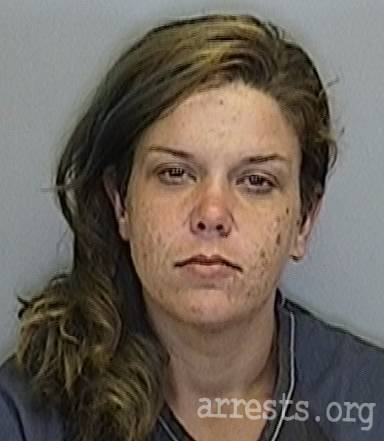 Jessica Beeman Arrest Photo
