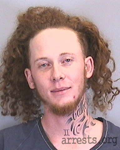 Chase Morganstern Arrest Photo
