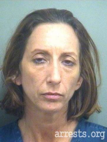 Cheri Spencer Arrest Photo