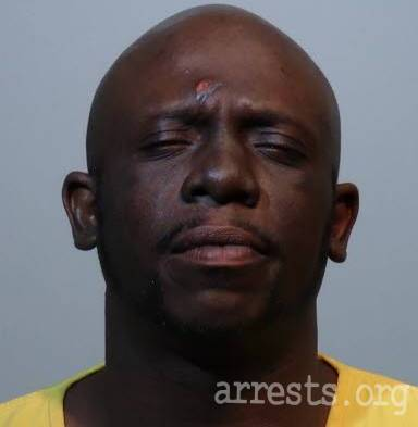 Darone Thomas Arrest Photo