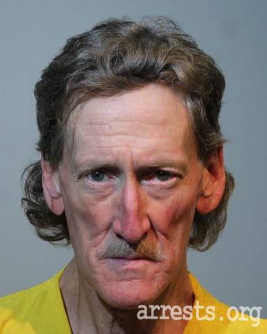Barry Whitaker Arrest Photo