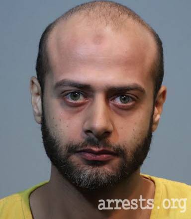 Omar Hegazy Arrest Photo