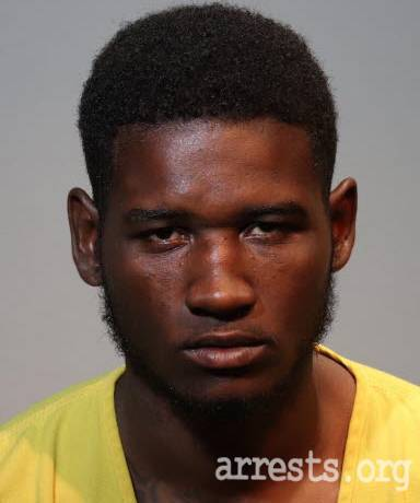 Darius Redding Arrest Photo