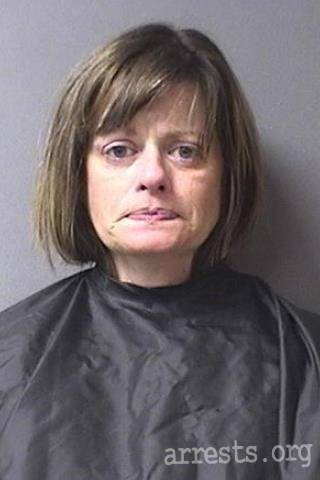 Carrie Tomey Arrest Photo