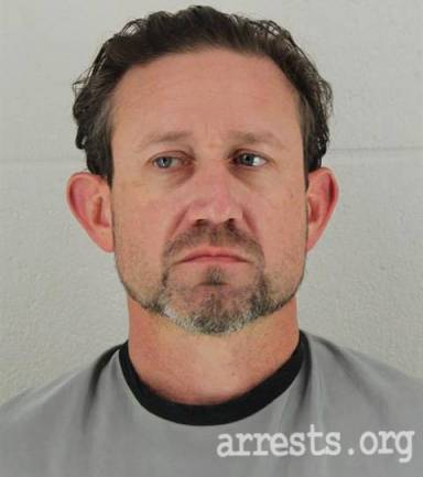 Trevor Robinson Arrest Photo