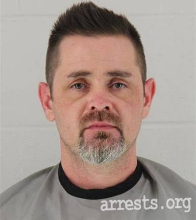 Christopher Terry Arrest Photo