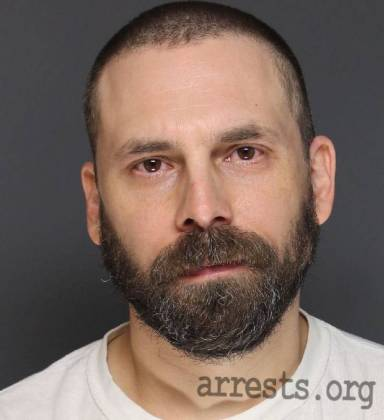 Leif Simpson Arrest Photo