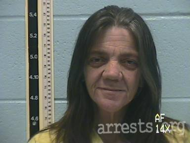 Schenna Trobaugh Arrest Photo