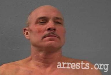 Fred Stegall Arrest Photo
