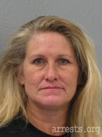 Mary Collins Arrest Photo
