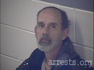 David Blount Arrest Photo