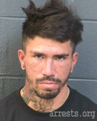 Israel Carrillo Arrest Photo