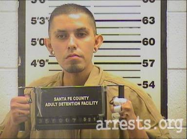 David Gallegos Arrest Photo