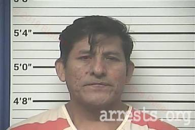 Zenaido Martinez Arrest Photo