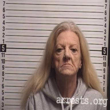 Norma Sanderlin Arrest Photo
