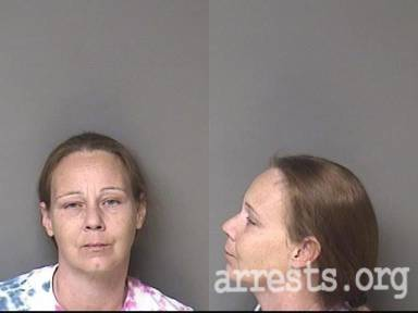 Mary Barnes Arrest Photo