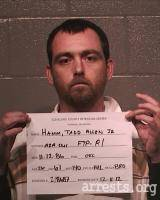 Tadd Hamm Arrest Photo
