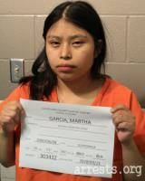 Martha Garcia Arrest Photo
