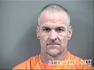 Brian Woods Arrest Photo