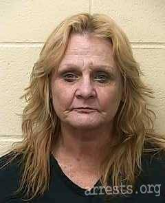 Teresa Sherwood Arrest Photo