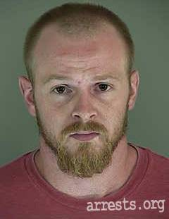 Zachariah Thomas Arrest Photo