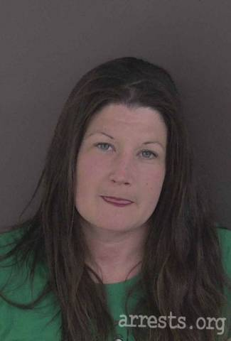 Melissa Swenson Arrest Photo