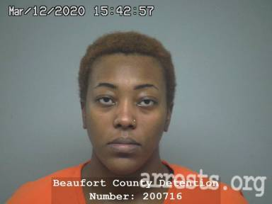 Jamira Vanalstyne Arrest Photo