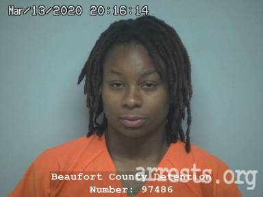 Charmaine Young Arrest Photo