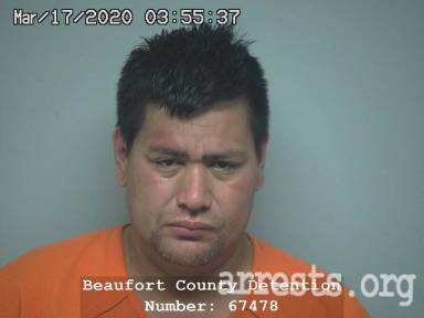 Victor Rodriguez Arrest Photo